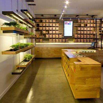 Herb renewal smokin medical marijuana dispensaries urbanist - Cannabis interior ...