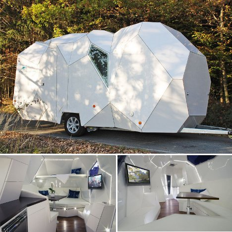 Cool Types Of Creative Boat Trailer Camping Trailers Tent Camping Tips