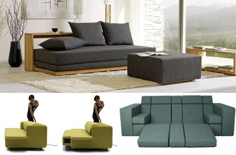 Creative Couch Designs beyond sofa beds: 7 creative new kinds of sleeper couch | urbanist