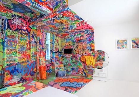 panic room colored art