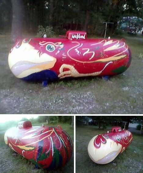 Grill Gas Flash 15 Prettily Painted Propane Tanks 360photography