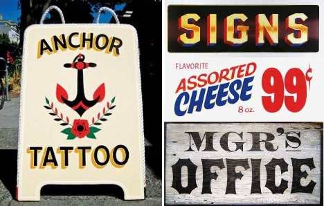 the incredible lost and found art of hand painted signage urbanist