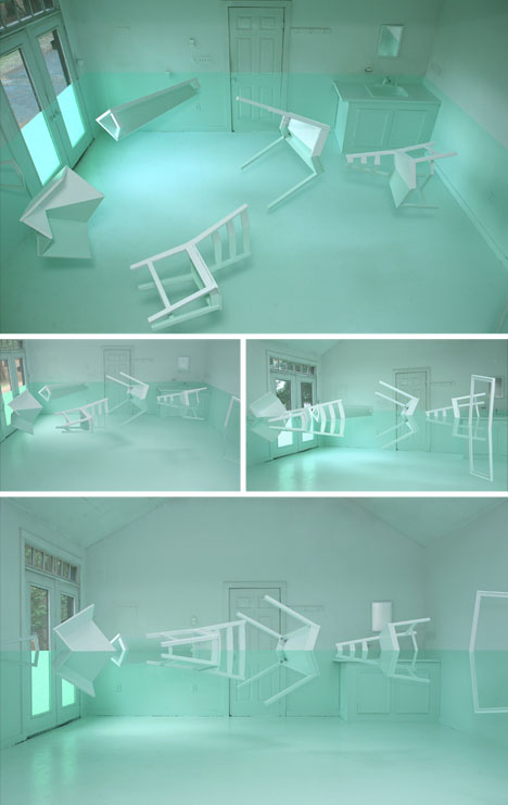 Don T Trip 4 Dizzying Rooms By 1 Surrealist Spatial