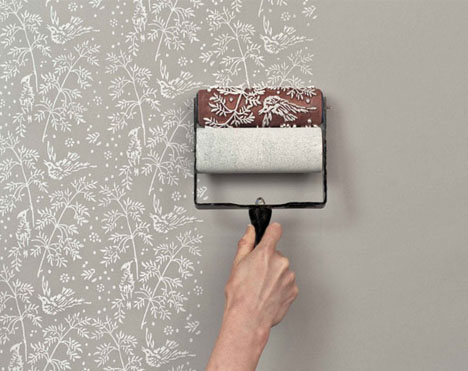 Wallpaper paint rollers cool amp classic patterns diy style urbanist