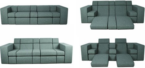 Images Via Dor This Modular Convertible Sofa