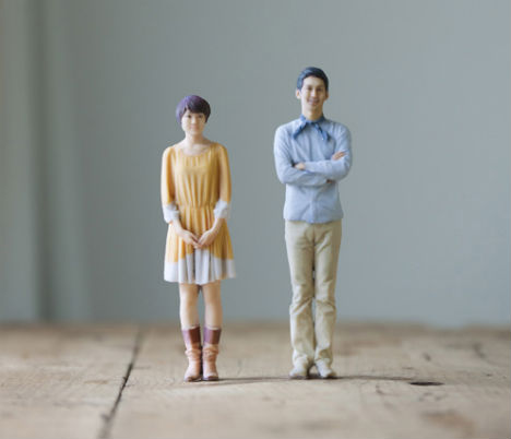 image about 3d Printable Figures titled Motion Determine Booth: 3D Printer Generates Personalized Collectible figurines