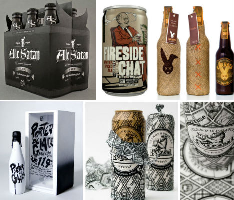Hand Crafted Design 20 Creative Beer Cans Label Designs Urbanist