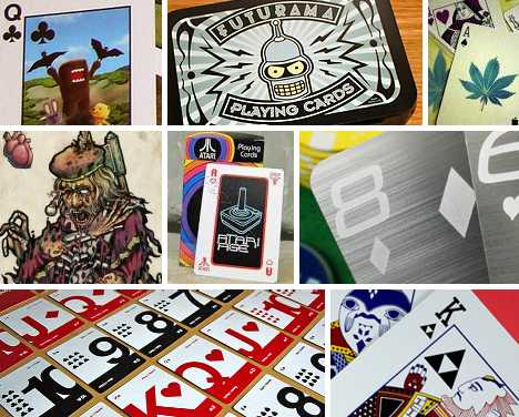 The Real Deal 13 Geeky Playing Card Decks Urbanist