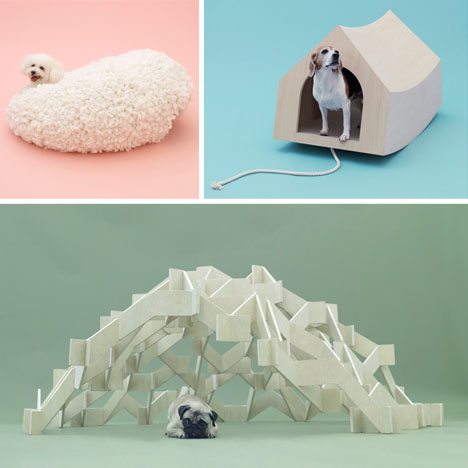 14 designer dog houses curating posh pup architecture for Architecture and design dog house