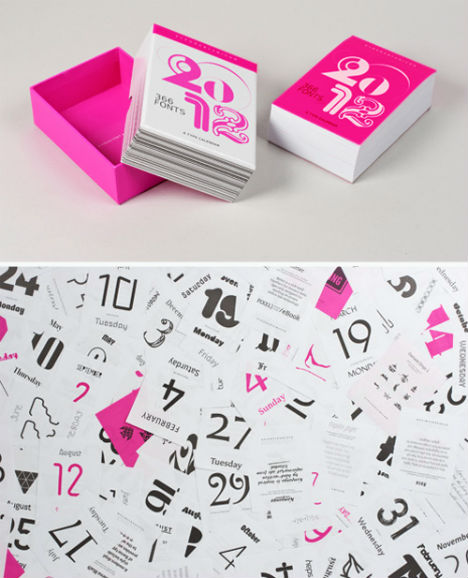 30 Days of Design: 15 Off-the-Wall Calendars | Urbanist
