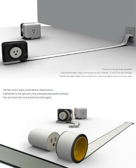 Wall Mounted Power Strip Power Trip: 13 Creative Cord & Outlet Concepts | Urbanist