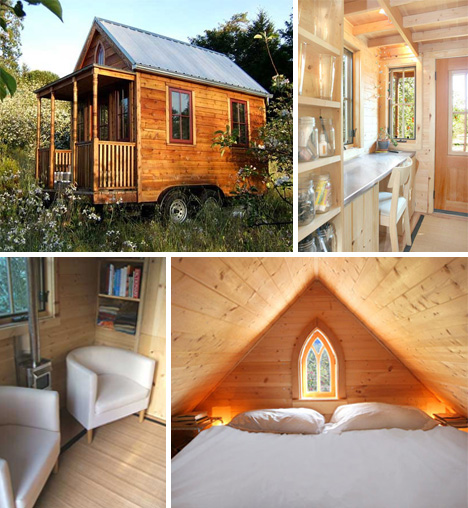 Living In A Tiny House: Go Big Or Home: Living Small In 11 Tiny Houses With Style