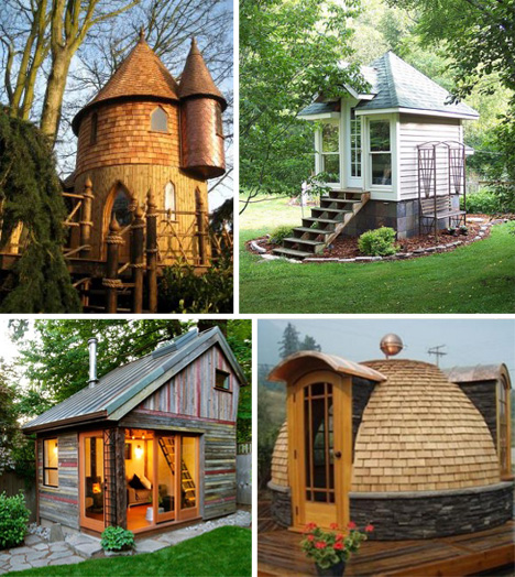 Go big or home living small in 11 tiny houses with style urbanist - Small homes big space collection ...