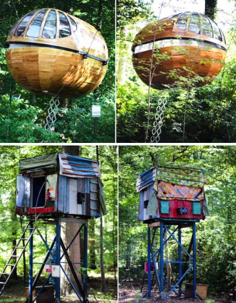 Treehouses Airhotel 3