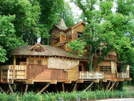 Treehouses Alnwick