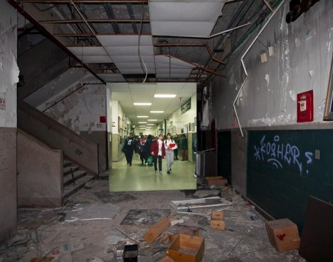 detroit hall empty pic