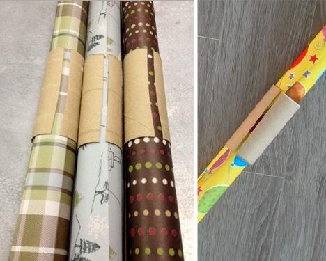 gift paper roll tube