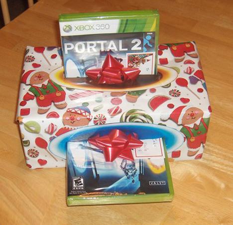 gift portal wrapping idea