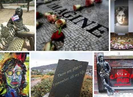 Imagine Nations 15 Peaceful John Lennon Memorials Urbanist