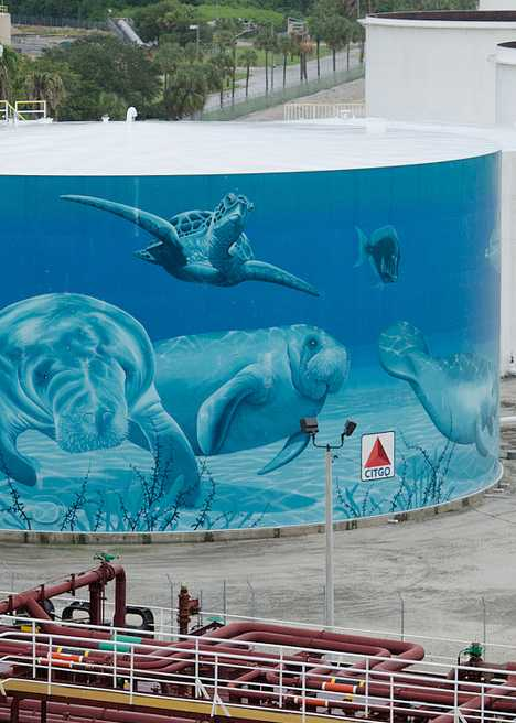Creative Fuel 12 Appealingly Painted Oil Storage Tanks