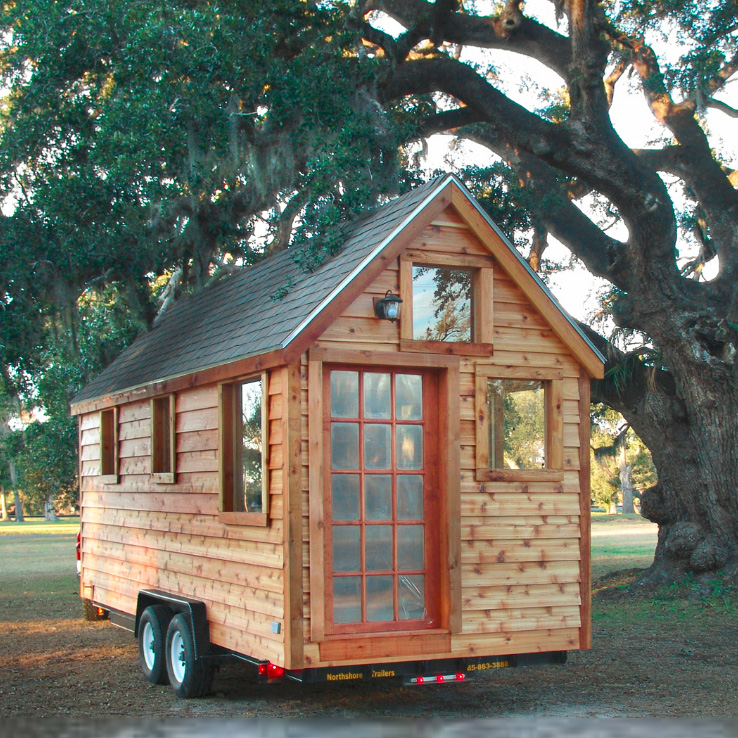 Go big or home living small in 11 tiny houses with style for Portable home designs
