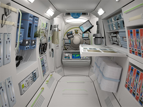 1 space hotel sleeping pod