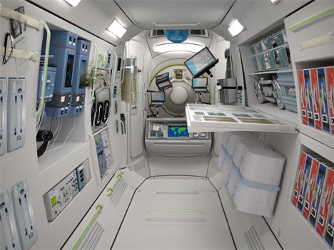 1 space hotel sleeping pod