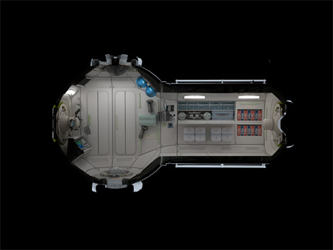 3 commercial space station