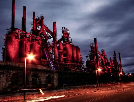 Abandoned Bethlehem Factory