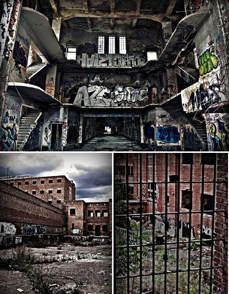 Abandoned Carcel Prison Spain