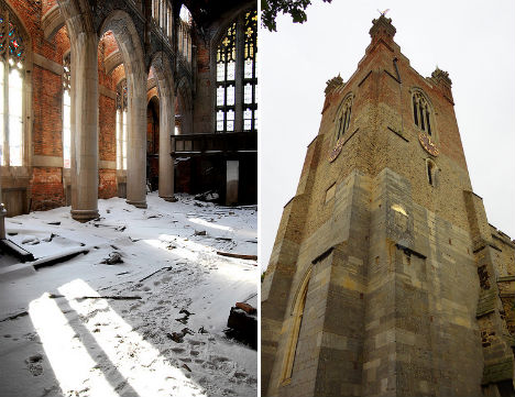 Abandoned City Methodist Church Gary INdiana 3