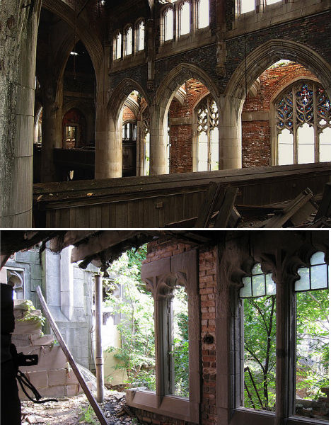 Abandoned City Methodist Church Gary Indiana 2