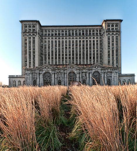 Abandoned Detroit Factories Skyscrapers Buildings