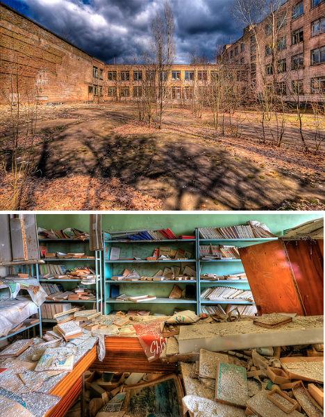 Abandoned Pripyat Ukraine Schools 2