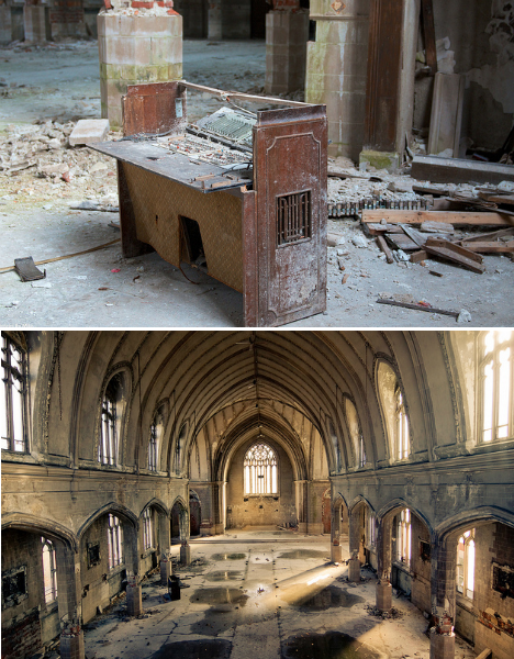 Abandoned St. Agnes Church Detroit 2