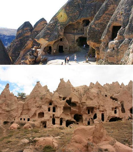 Cliffside Mountain Monasteries Cappadocia 2