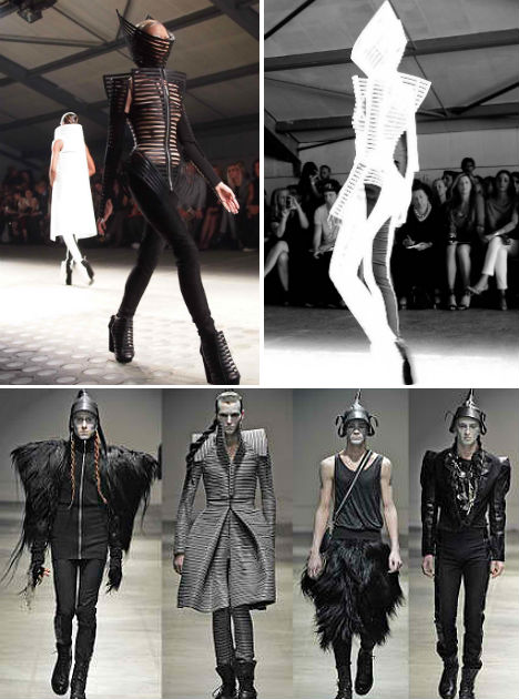 futuristic fashion 35 outofthisworld designer looks
