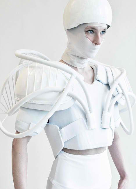 Futuristic Fashion Whiteness Julia Krantz