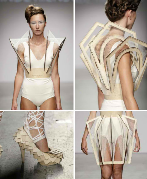 Futuristic Fashion Winde Rienstra