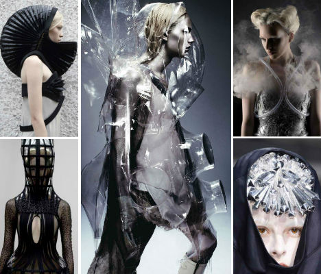 Futuristic Fashion Magazines