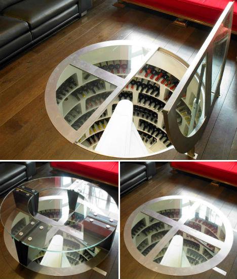 50 Amazing Wine Storage Design Ideas: Secret Spirals: Underground Home Wine Cellar Spaces