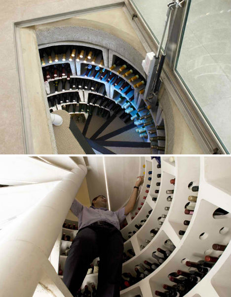 Hidden Spiral Wine Cellars 3