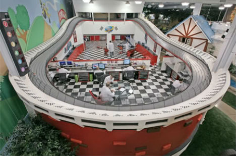 Inventionland Race Track Office