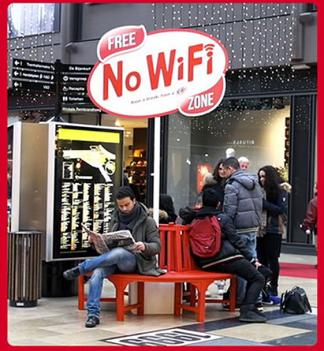 No Wi Fi Zones Taking A Break From Constant Connection