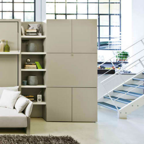 Space Saving All in One Office 1