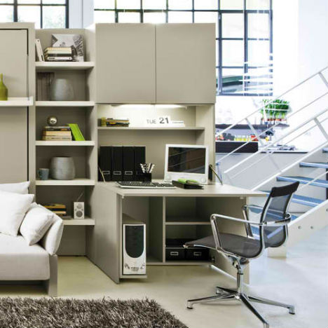 Resource furniture convertible designs for small spaces urbanist - Small space convertible furniture image ...