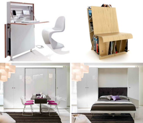 Resource furniture convertible designs for small spaces for Small space furniture ideas