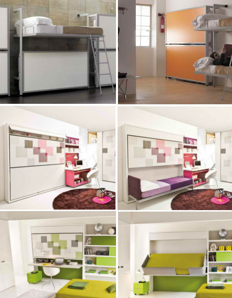 Rv deco on pinterest 484 pins - Small space convertible furniture image ...