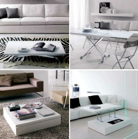 Space Saving Transforming Tables