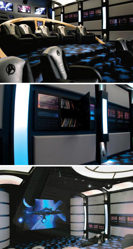 Star-Trek-Themed-Home-Theater Star Trek Home Theater Design Idea on scooby doo home theater, alien home theater, lost in space home theater, death star home theater, prometheus home theater, guardians of the galaxy home theater, batcave home theater, marvel home theater, disney home theater, dark knight home theater, indiana jones home theater, harry potter home theater, superman home theater, private home theater, doctor who home theater, sci fi home theater, diy home theater, batman home theater, finding nemo home theater, custom home theater,